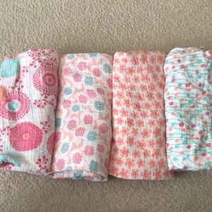 Aden and anais and tea collection muslin swaddles